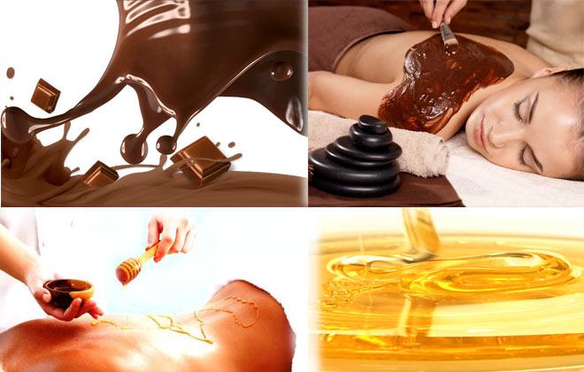 Imagine cupon oferta -  Un cadou de ciocolata!  Ritual miere si ciocolata la Kamiya Therapy! Include: peeling corporal+ impachetare (ciocolata)+ masaj de relaxare+ reflexoterapie+ sauna cu infrarosu+ radiofrecventa faciala+ tratament maini si picioare! Totul incepand de la 99 lei!