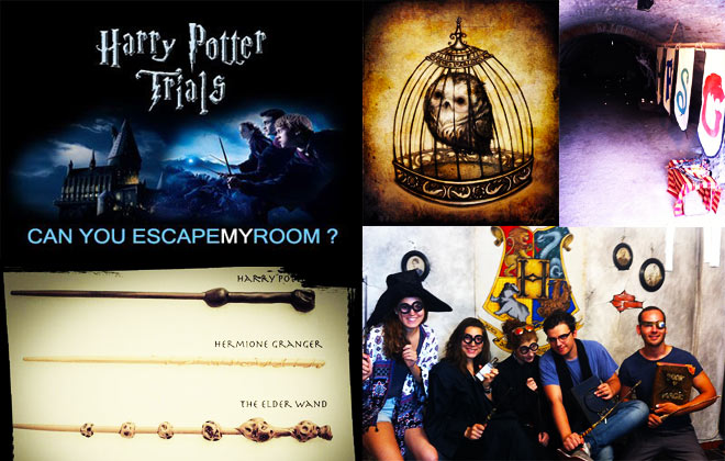 Escape Room Bucuresti Harry Potter